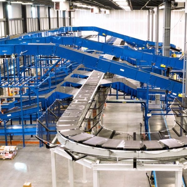 Mainway Sortation Conveyor System