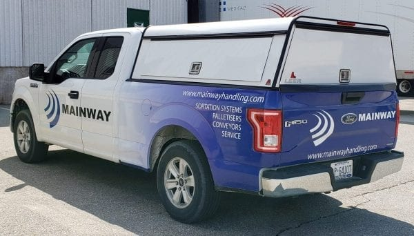 Mainway Service and Maintenance Team Truck