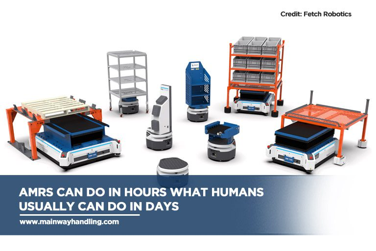 AMRs can do in hours what humans usually can do in days