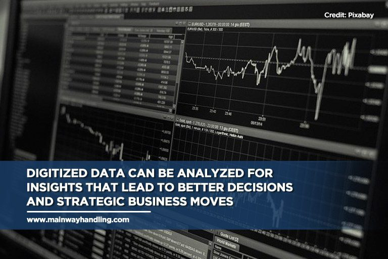 Caption: Digitized data can be analyzed for insights that lead to better decisions and strategic business moves