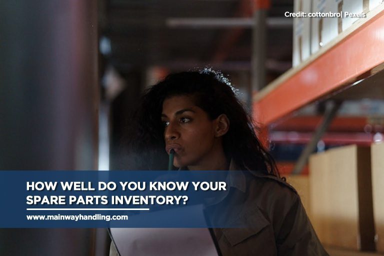 How well do you know your spare parts inventory?