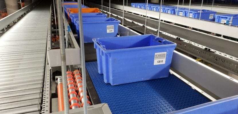 Mainway Mod Sort Tote Conveyor