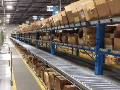 Mainway Inventory and Itemized Sorting Warehouse