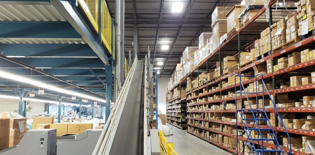 Mainway Inventory, Tag and Staging Warehouse
