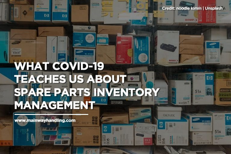 What COVID-19 Teaches Us About Spare Parts Inventory Management