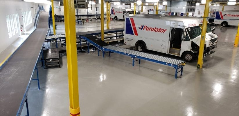Mainway Purolator Distribution Sort Hub
